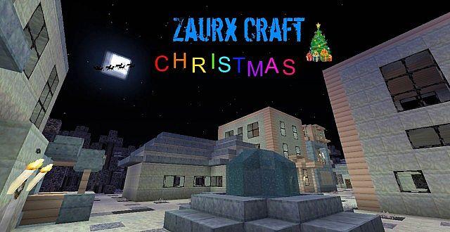 Zaurx Craft Christmas Resource Pack 1 7 10 Texture Packs
