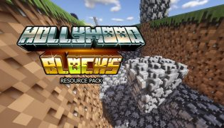 Hollywood Blocks Resource Pack 1.16 / 1.15