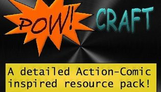 POW! Craft Resource Pack 1.7.10