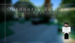 Outdoorsy Realism Resource Pack 1.7.10 / 1.6.4