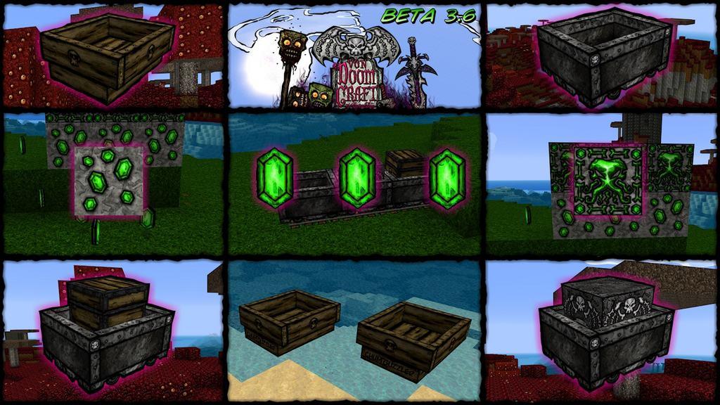 vonDoomCraft Resource Pack 1.8.9 / 1.7.10   Texture Packs