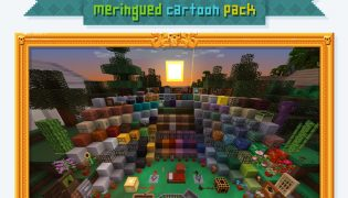 Frenden's Meringued Cartoon Resource Pack 1.9.4 / 1.8.9