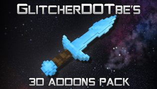 Glitch's 3D Addons Resource Pack 1.12