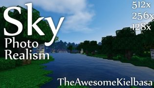 Sky Photo Realism Resource Pack 1.9.4 / 1.8.9