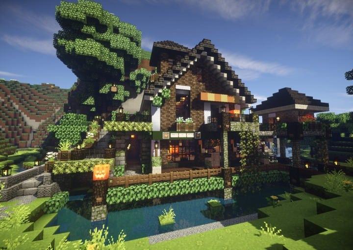 Maison Original Minecraft. Belle Maison Francaise On Decoration D ...