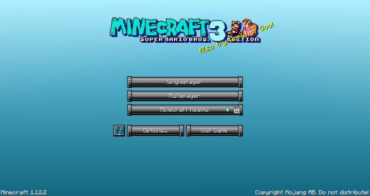 Super Mario Bros. Resource Pack 1.12.2 | Texture Packs