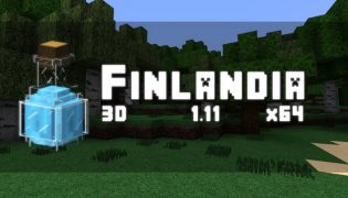 Finlandia Resource Pack 1.11.2 / 1.8.9
