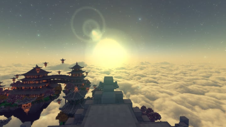 Above-The-Clouds-Resource-Pack-for-minec