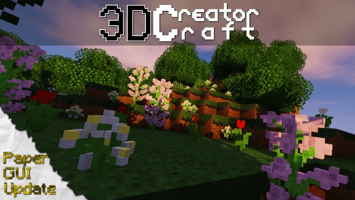 3d Creatorcraft Resource Pack 1 13 1 12 2 Texture Packs