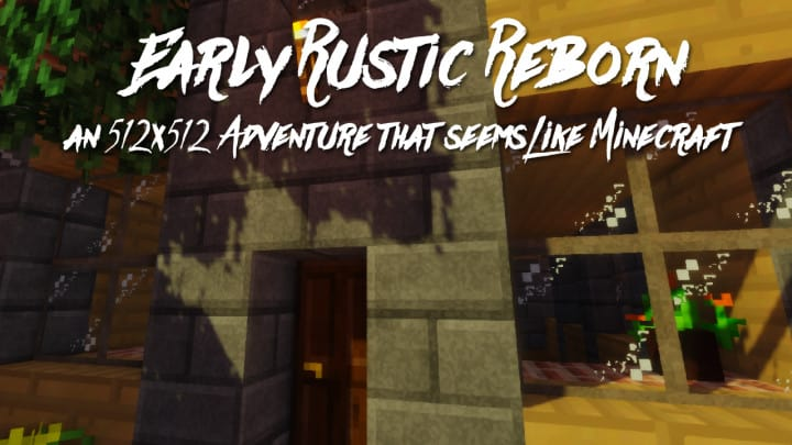 Early Rustic Reborn Resource Pack 1122