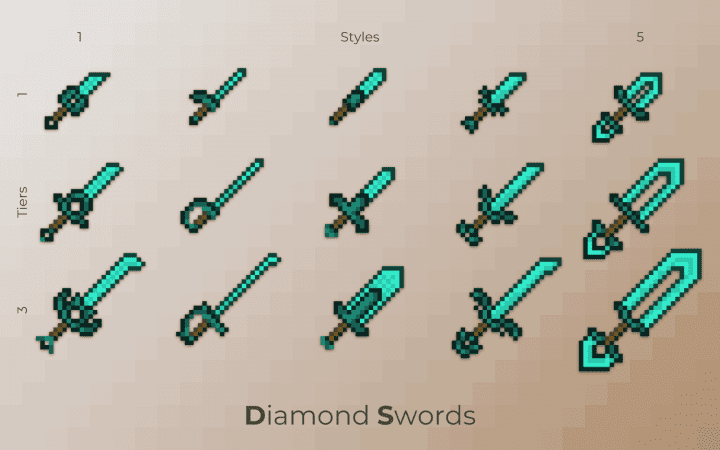 minecraft diamond sword texture