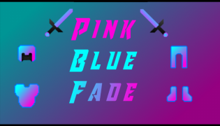 Blue Pink Fade Resource Pack 1.12.2 / 1.8.9