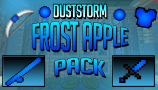 DustStorm Frost Apple PvP Resource Pack 1.8.9
