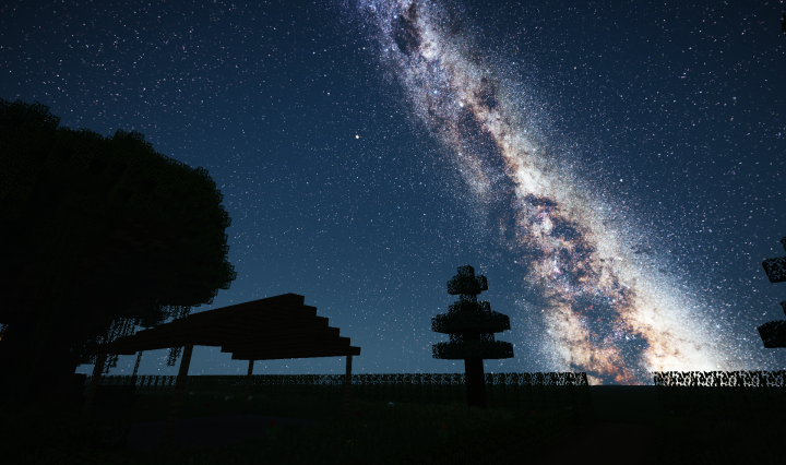 Milkyway Galaxy Night Sky Resource Pack 1 16 1 15 Texture Packs