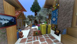 Sphax XmasBDcraft Resource Pack 1.16 / 1.15