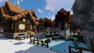 Winthor Winter Resource Pack 1.13.2 / 1.12.2