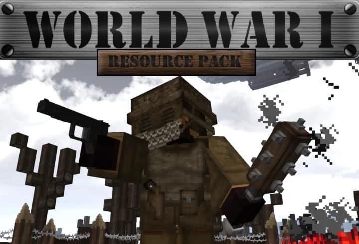 World War I Resource Pack 1 14 / 1 13 | Texture Packs