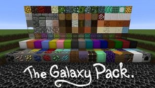 The Galaxy Resource Pack 1.14 / 1.13