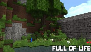 Full of Life Resource Pack 1.14 / 1.13