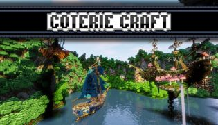 Coterie Craft Resource Pack 1.16 / 1.15