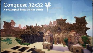 Conquest Resource Pack 1.16 / 1.15