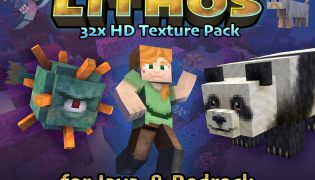Lithos Resource Pack 1.16 / 1.15