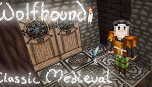 Wolfhound Classic Medieval Resource Pack 1.17 / 1.16