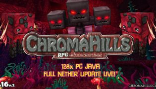 Chroma Hills Resource Pack 1.16 / 1.15