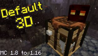 Default 3D Resource Pack 1.16 / 1.15