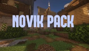 Novik Resource Pack 1.16 / 1.15
