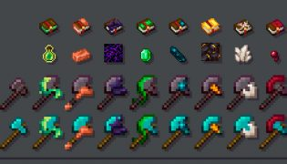 Enchanted Tools Resource Pack 1.17 / 1.16