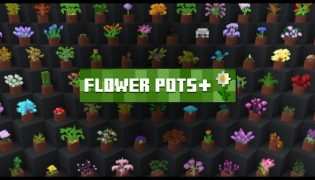 Flower Pots + Resource Pack 1.16 / 1.15
